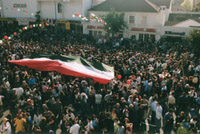 Iranian Americans celebrating Norowz at LA City Hall (March 16, 2007)