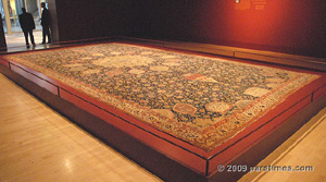 The Ardabil and Coronation Carpets