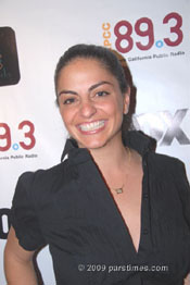 Nadine Rajabi - Hollywood (September 22, 2009)