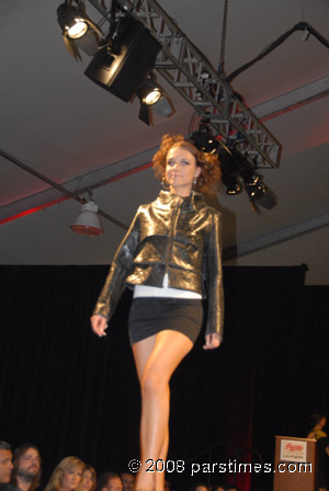 Simin Collection, model Bita Milanian - UCLA (April 12, 2009) by QH