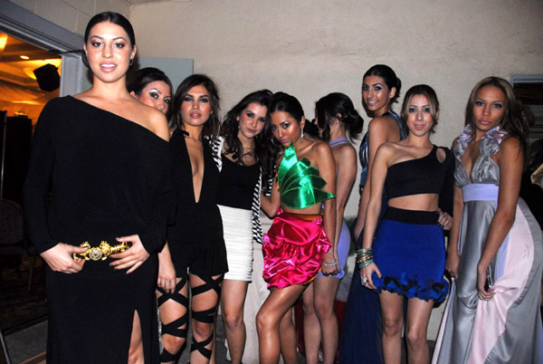 Negar Tafreshi & her models (April 9, 2011) - by QH