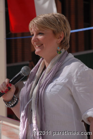 Alison Arngrim Book Signing & Discussion at the LA Times Book Fair