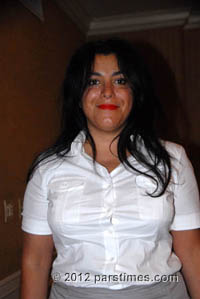 Marjan Satrapi - Beverly Hills (August 6, 2012)