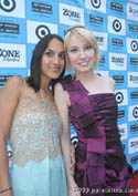 Director Suzi Yoonessi & Actress Savanah Wiltfong at the Premiere of Dear Lemon Lima