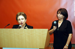 Human Rights Lawyer Shirin Ebadi - April 12, 2006 - by QH