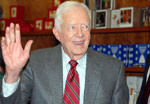 Former President Jimmy Carter advocates talking to Iran - Pasadena (Decmeber 11, 2006) - by QH