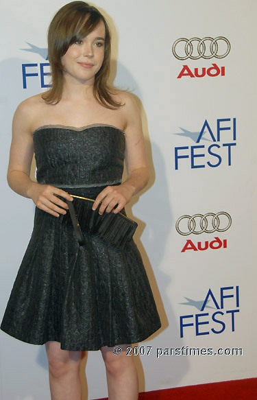 Ellen Page - AFI FEST 2007 (November 4, 2007)- by QH