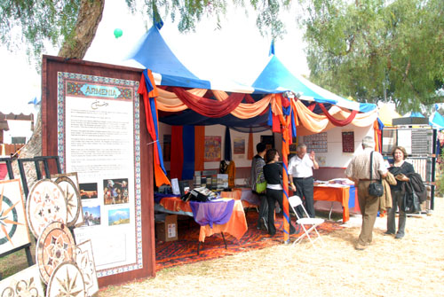 Armenia Exhibit at Mehregan - Costa Mesa (October 13, 2007)