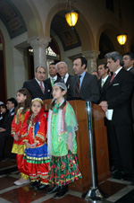 Iranian-American Community Leaders at the LA City Council