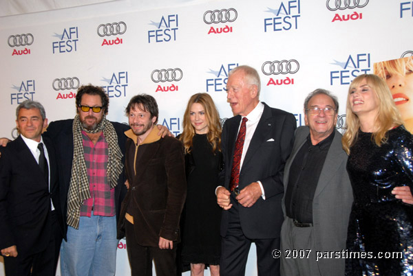 Cast and crew  of Le Scaphandre et le papillon - AFI FEST 2007 (November 8 2007)- by QH