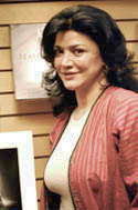 Academy award nominee Shohreh Aghadashloo - by QH (April 3, 2005)