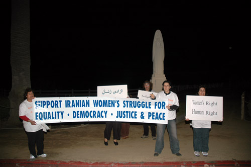 International Women's Day Demonstrations, Santa Monica (March 7, 2006)- by QH