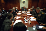 President George W. Bush with National Security Council - WH Photo (September 20, 2001