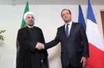 President Hassan Rouhani & French President François Hollande - September 24m 2014