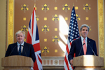 Secretary Kerry & British Foreign Secretary Boris Johnson - USDOS Photo - July 19, 2016