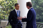 President Obama & Prime Minister David Cameron - White House Photo (July 20, 2010)