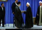 Hassan Rouhani inaugurated as Iran's new president - August 3, 2013