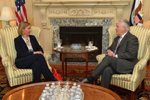 Secretary Tillerson Meets With EU High Representative Mogherini in Washington - USDOS Photo, February 9, 2017