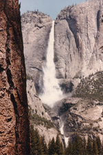 Bridalveil Fall - Yosemite National Park, by QH