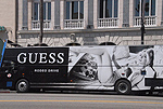 Bus on Hollywood Blvd. - by QH