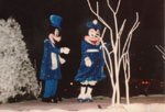 Mickey  and Minnie mouse - Santa Ana, by QH