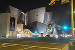 Walt Disney Concet Hall at Night, by QH