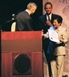 LA Mayor Hahn & Shirin Ebadi at UCLA Royce Hall, May 14, 2004
