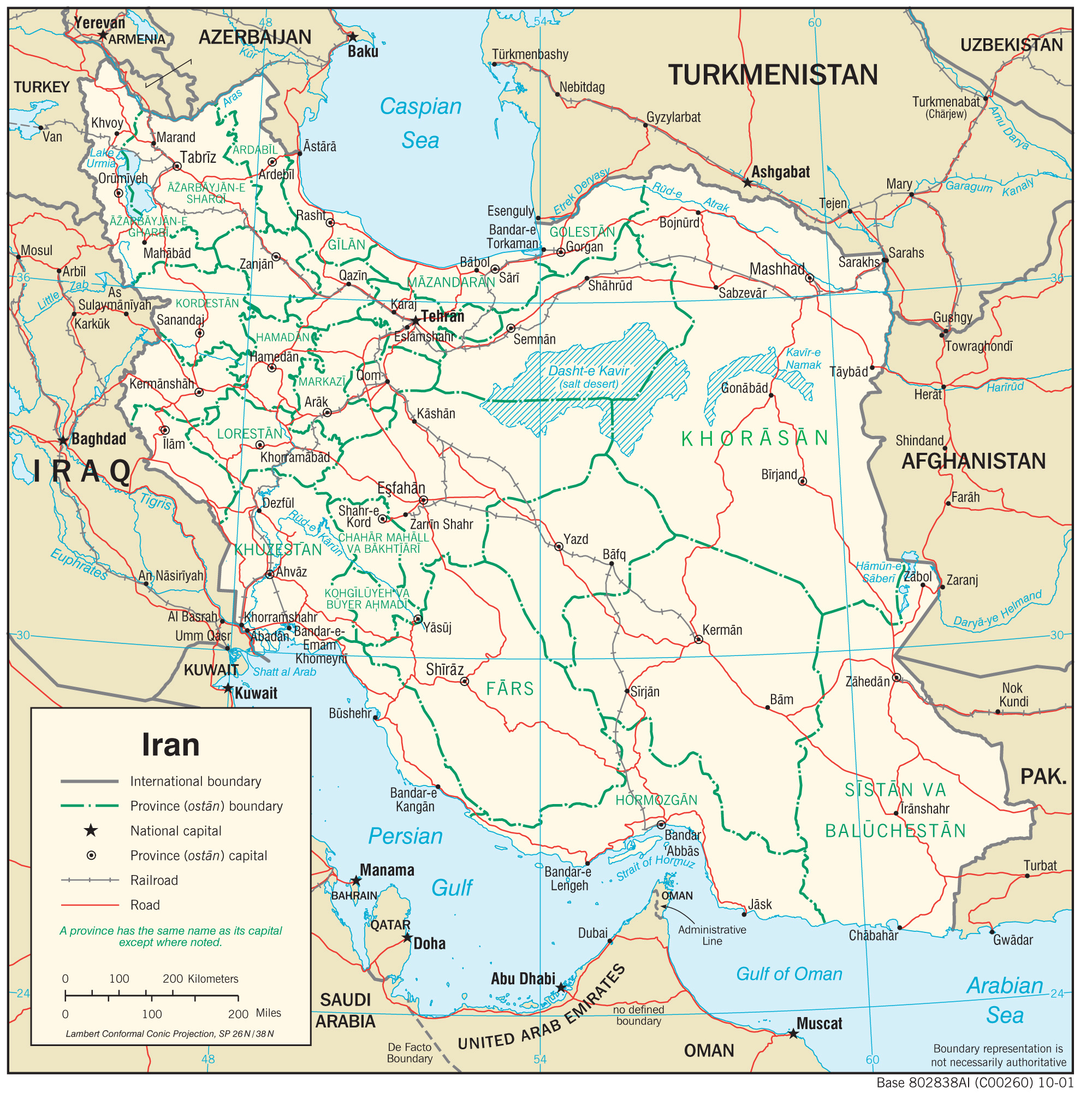 Iran Maps Charts - Map of iran