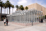 LACMA Street Lamps Installation, by QH