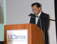 Dr. Fariborz Maseeh - Founder of Persian Studies program at the University of California at Irvine - by QH - October 10, 2009