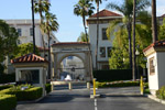 Front gate for Paramount Studios - by QH