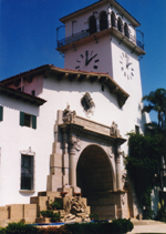 Santa Barbara Court House - by QH