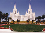 The San Diego California Temple - La Jolla, by QH