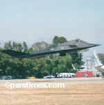 F-117 stealth fighter - �parstimes.com - Photo by QH