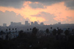 Sunset, Hollywood - by QH