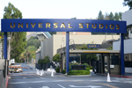 Front gate for Universal Studios - by QH