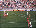 US-Iran draw 1-1 at the Rose Bowl - January 16, 2000