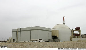 Bushehr Nuclear Power - Courtesy of ISNA