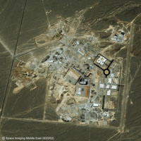 Natanz uranium enrichment facility (September 20, 2002) - courtesy of Space Imaging