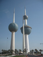 Kuwait Towers - February 17, 2010 - Courtesy of US Treasury