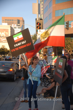 Peaceful Iranian demonstration in Westwood (September 24, 2009 - by QH