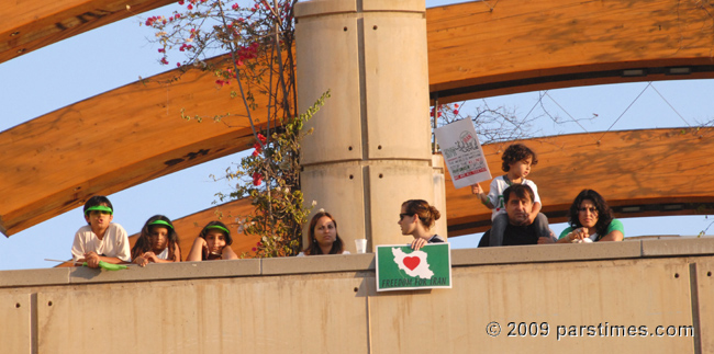 Solidarity with the people of Iran - UCLA (July 25, 2009) - by QH