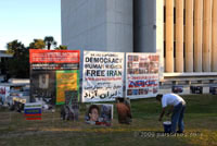 Peaceful Iranian Demonstration - Westwood (September 24, 2009) - by QH