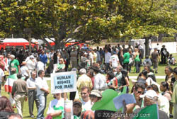 Iranain-Americans demanding human rights for Iran - LA (June 28, 2009) by QH