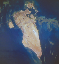 Bahrain - June 25, 1996 (NASA)