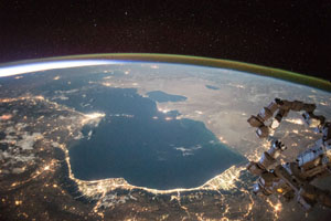 Caspian Sea, July 26, 2015 - NASA