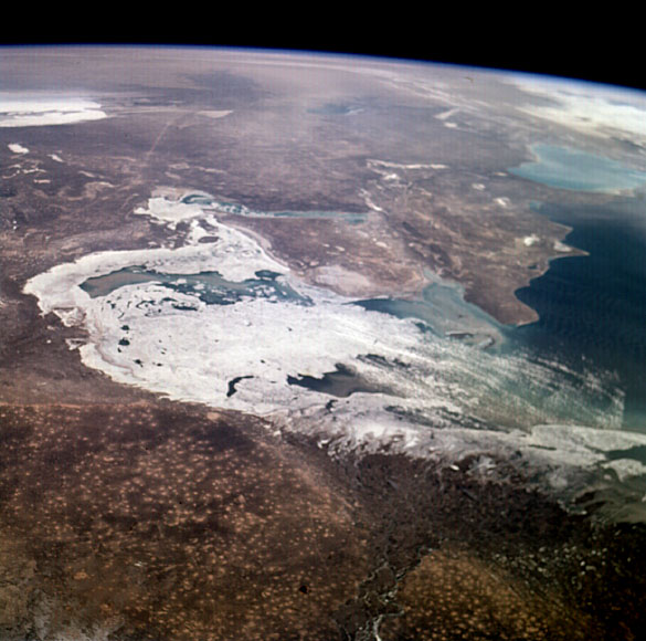 Caspian Sea - July 1996 (NASA)