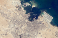 Doha, Qatar December 20, 2010 (NASA)