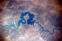 Euphrates River, Iraq - ESA/NASA