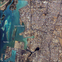 Jeddah, Saudi Arab - NASA March 2005